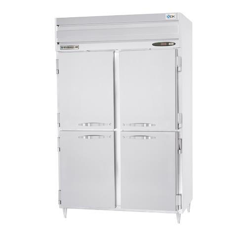 Beverage Air - PRF24-24-1AHS-02 - (2) 1/2 Door Dual Temperature