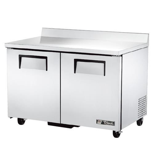 """True - TWT-48F-HC - 2 Door 48"""" Worktop Freezer"""