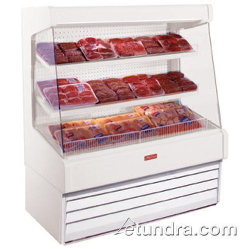 "51"" x 60"" White Meat Merchandiser at Discount Sku SC-OM30E-4L-LS HWDSCOM30E4LLS"