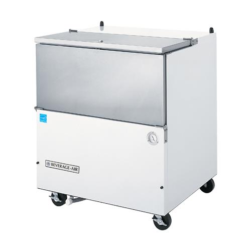 """34 1/2"""" Cold Wall Milk Cooler at Discount Sku SM34N-W BEVSM34NW"""