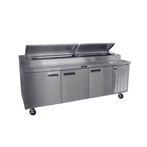 Delfield refrigerated pizza prep table for Table 99 restaurant