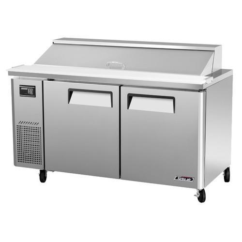 Turbo air jst 60 60 in sandwich prep table etundra for Table cuisine 90 x 60