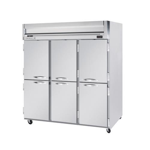 H Spec Series (3) 1/2 Door Refrigerator