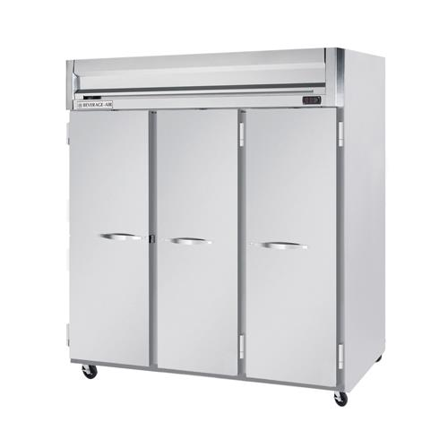 H Spec Series 3 Door Refrigerator