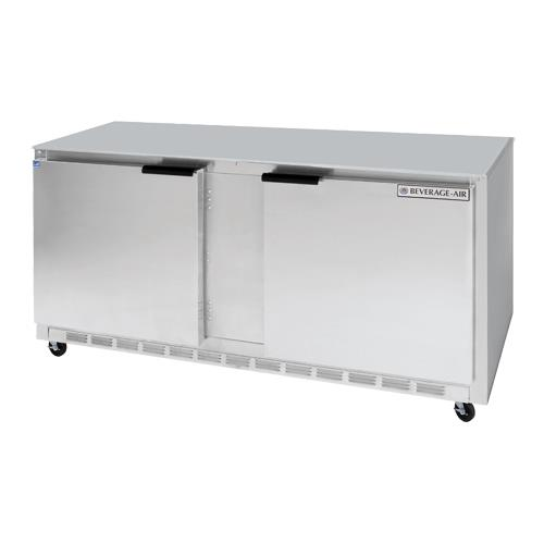 beverage air ucr60ahc 09 60 in 2 door undercounter. Black Bedroom Furniture Sets. Home Design Ideas