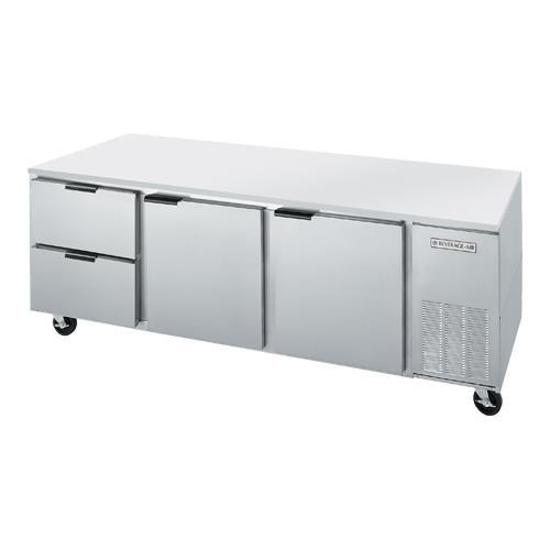"""93"""" 2 Drawer Undercounter Refrigerator at Discount Sku UCRD93A-2 BEVUCRD93A2"""