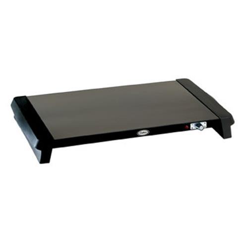 Cadco - WT-100 - 20 1/2 x 14 in Black Countertop Warming Shelf