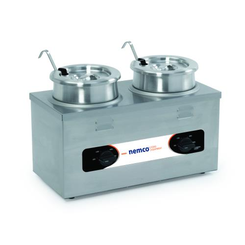 Twin Well Countertop Food Cooker/Warmer