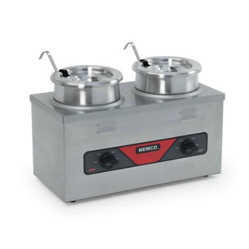 Twin Well Countertop Food Cooker/Warmer