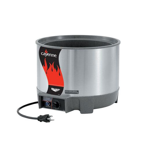Vollrath Soup Warmers ~ Vollrath  cayenne qt round rethermalizer unit