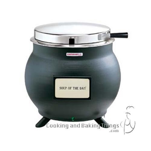 Restaurant Soup Warmer ~ Server  black qt soup kettle cooker warmer