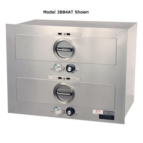 """2 Drawer 23"""" x 23"""" 208/240V Built-In Warmer at Discount Sku 3B20AT72 TOA3B20AT72"""