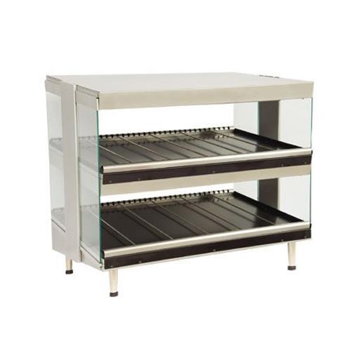 "Heat-Wave Classic 30"" Double Shelf Horizontal Display Merchandiser at Discount Sku HWC30H2 STAHWC30H2"
