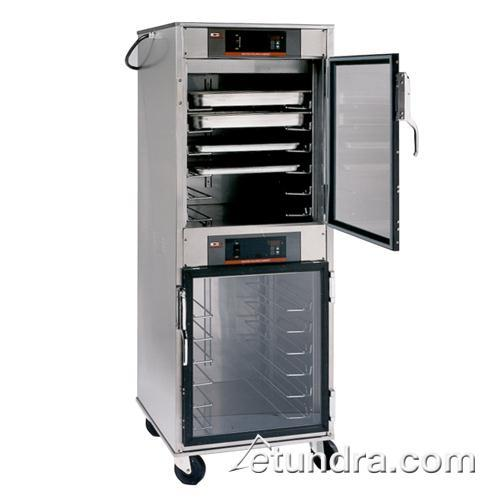 hotLOGIX8 Series Two Compartment Stainless Steel Heated Cabinet at Discount Sku HBU12 CARHBU12