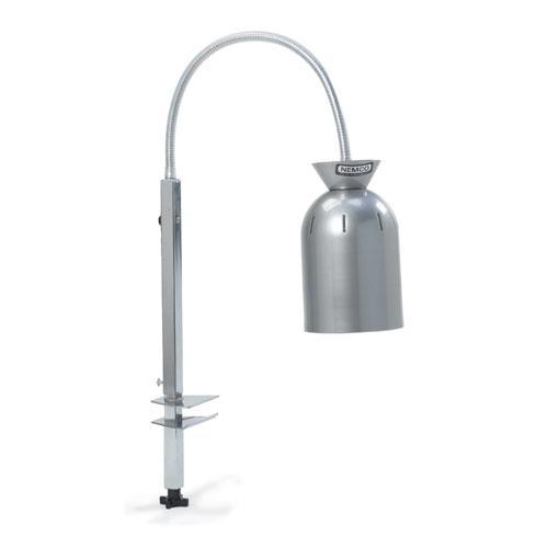 Harp Bar Lamp: Adjustable Single Bulb Gooseneck Heat