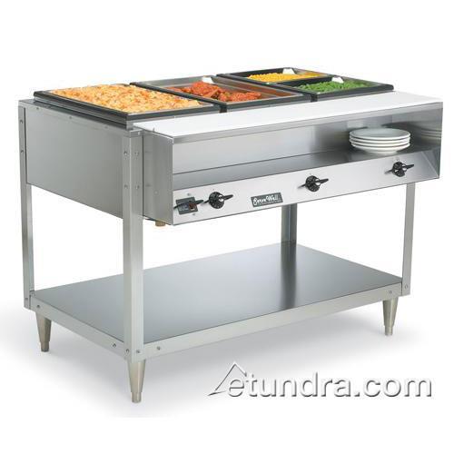 Servewell 208/240 Volt 2 Well Hot Food Table at Discount Sku 38116 VOL38116
