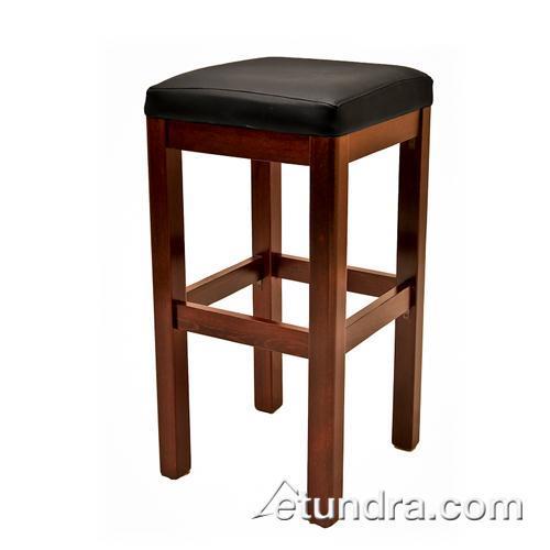 Wooden Business Stools ~ Oak street wb wa wood stool w walnut seat