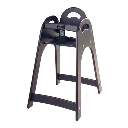 Black Designer High Chair