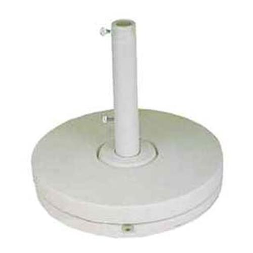 35 Lb White Umbrella Base Ring