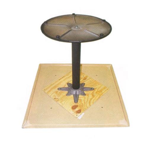 Table Mounting Plate : Grosfillex us in table mounting plate