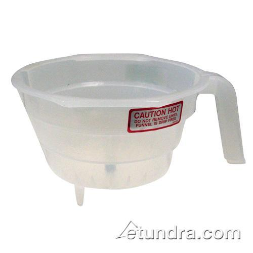 Iced Tea Clear Brew Funnel w/Restrictor at Discount Sku V236R 66187