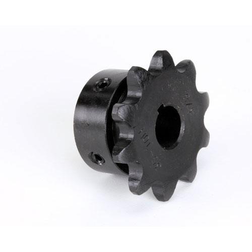 10T 3//8 Bore Nieco Motor Sprocket 17899