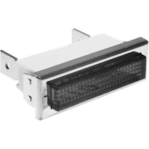 Commercial Electric Light Parts: Commercial - 125V Hat Flat Red Signal Light