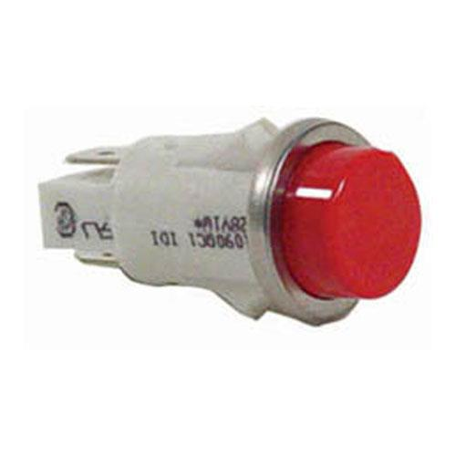 Commercial Electric Light Parts: Commercial - 28V Red Indicator Light