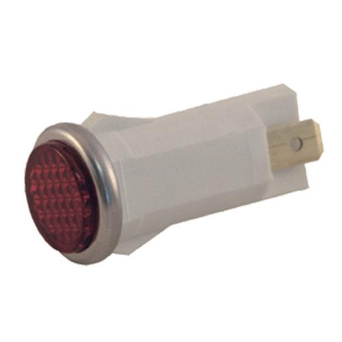 "Commercial - 1/2"" Red Indicator Light"