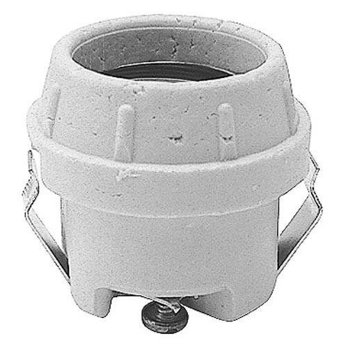 Commercial Electric Light Parts: Commercial - Push Mount Ceramic Light Socket