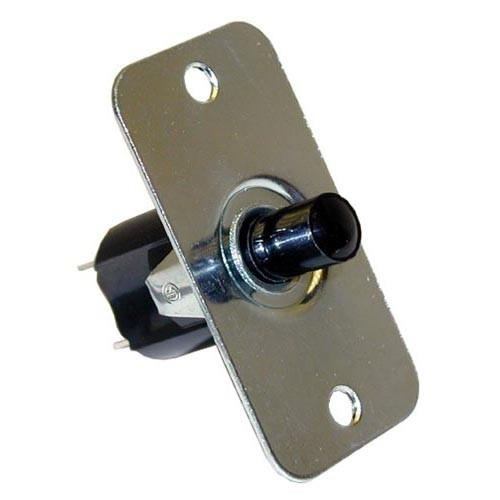 Commercial Electric Light Parts: Com-Moment On/Off 2 Tab Push Light Switch W/Rectangle