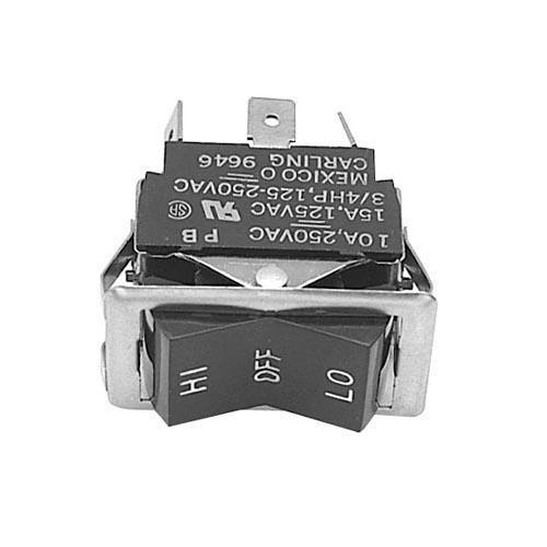 DPDT Hi/Lo Rocker Switch at Discount Sku 6503 421277