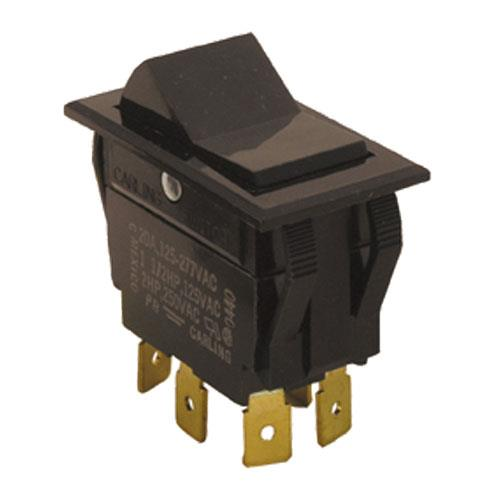 DPDT On/On 6 Tab Rocker Switch at Discount 42117