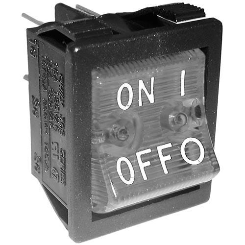 DPST On/Off Lighted Rocker Switch at Discount Sku 156527 421716