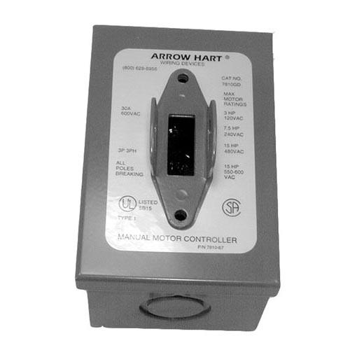 3PST On/Off 6 Tab Toggle Switch w/Enclosure at Discount 421034