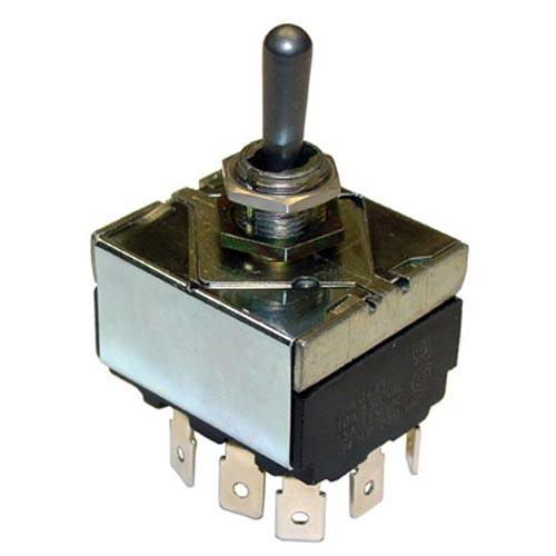 Toggle Switch Replacement Parts : Frymaster fm pdt on off toggle switch