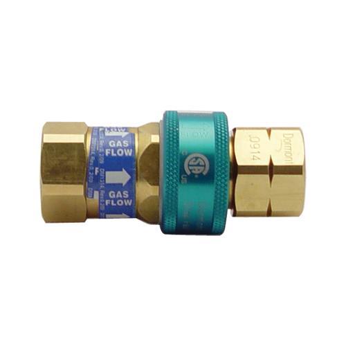 Dormont - A75 - SnapFast™ 3/4 in Gas Quick Disconnect | eTundra