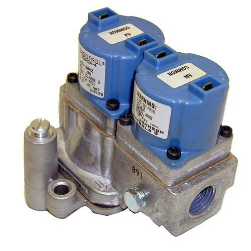 "1/2"" 25V Natural Gas Dual Solenoid Valve at Discount Sku 369554 541116"
