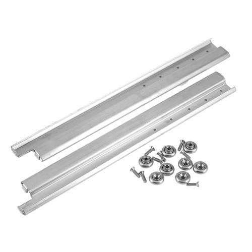 Kitchen Cabinet Drawer Replacements: CHG - S52-0024 - 24 In Stainless Steel Drawer Slides