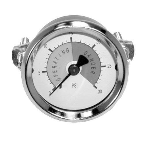0 30 PSI Steam Pressure Gauge