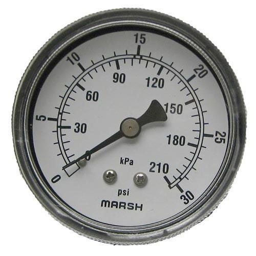 0 30 PSI Dual Scale Pressure Gauge