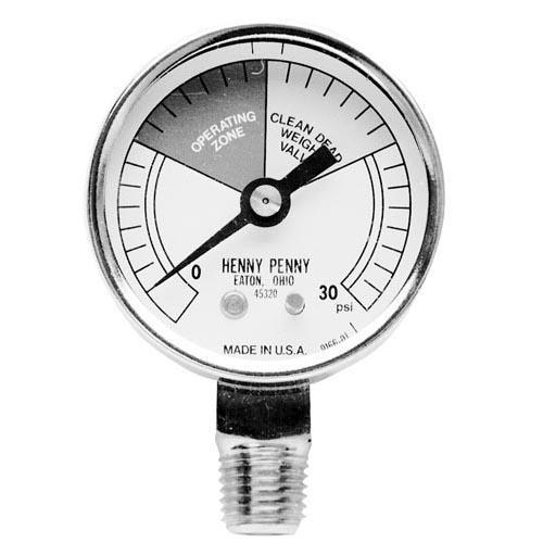 0 30 PSI Pressure Gauge
