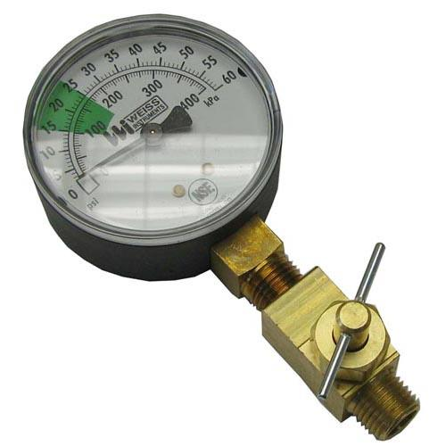 0 60 PSI Pressure Gauge