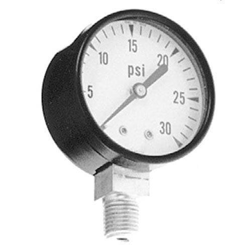0 30 PSI Steamer Pressure Gauge