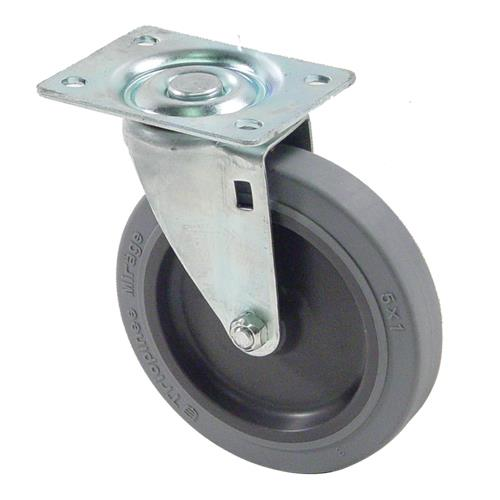 "Bus Cart Caster w/ 5"" Wheel at Discount 35110"