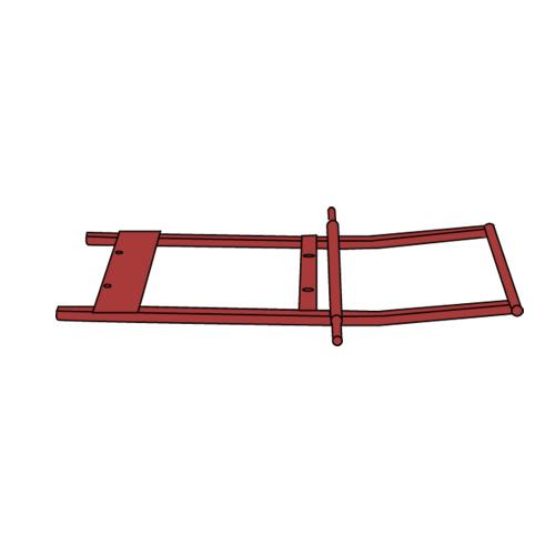 1 sq yd Red Tilt Truck Frame at Discount Sku 1314-L2 RUBFG1314L2RED