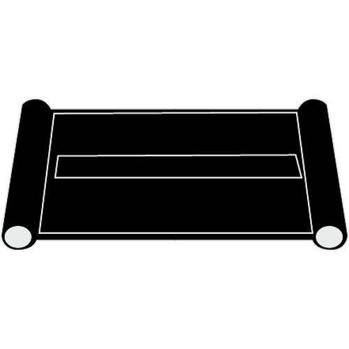 Utility Cart End Panel Black at Discount Sku 3421-L5 RUBFG3421L5BLA