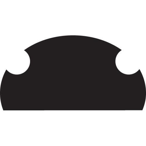 Stepstool Step Pad - Black