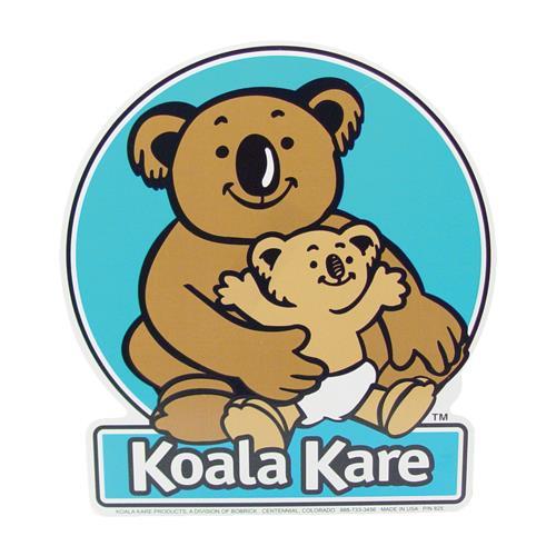 Koala 825 changing station 10 in x 11 in door label - Koala components ...