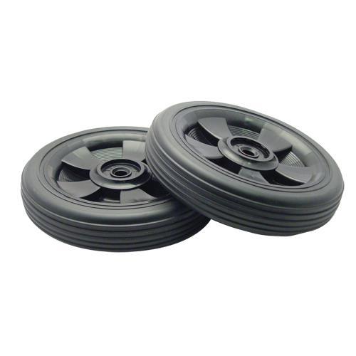 Rubbermaid 9w27 L1 50 Gal Rollout Wheels Push Cap